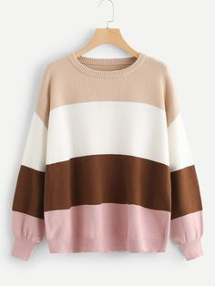 Shop SHEIN for cozy, soft sweaters and cardigans that fit and flatter every shape. You'll find stylish oversized sweaters, tunics, and pullovers that take you from fall to spring. Modest Fashion Hijab, Casual Hijab Outfit, Girls Fashion Clothes, Teen Fashion, Fashion Outfits, Cute Comfy Outfits, Cool Outfits, Stylish Hoodies, Cute Sweaters