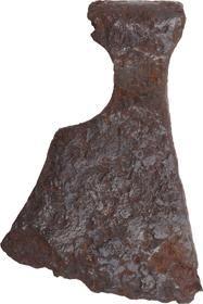 VIKING BATTLE AXE, 850-1050 AD