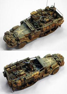 M3 Halftrack | Military Miniatures H.Q. | Scoop.it