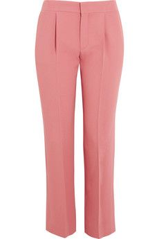 Chloé Cropped crepe pants | THE OUTNET
