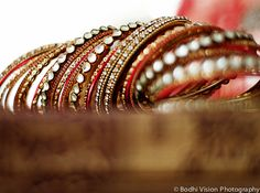 indian wedding tradition bridal bangles http://maharaniweddings.com/gallery/photo/4853