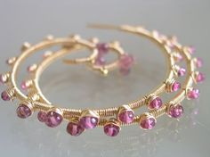 Haute Couture...Tantalizing Gemstone Laden Gold by bellajewelsII