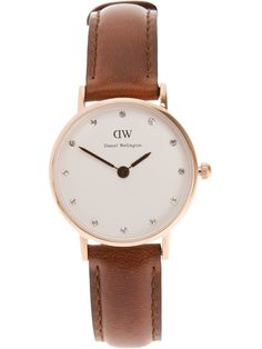 BOUGHT for our 3rd (leather) anniversary. st andrews woman watch / daniel wellington -