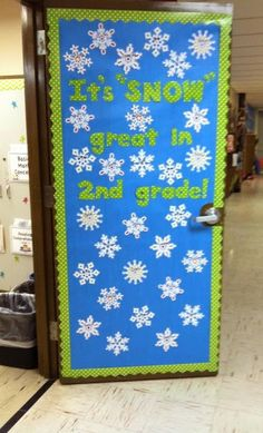 """It's """"SNOW"""" great in 2nd grade! This could be adapted for Kindergarten or any grade level you choose."""