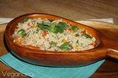 Salada de Quinoa com Manjericão
