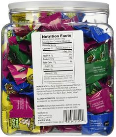 Amazon.com: Warheads Extreme Sour Hard Candies: Grocery & Gourmet Food