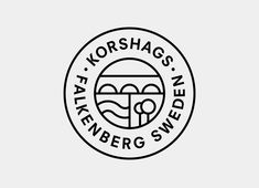 Logo design for Swedish seafood producer Korshags by Kurppa Hosk