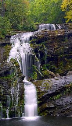 Bald River Falls, Tennessee