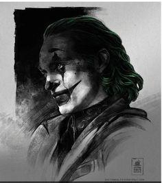 Photos Joker, Joker Images, Joker Iphone Wallpaper, Joker Wallpapers, Joker Drawings, Cool Art Drawings, Joker Sketch, Art Du Joker, Joker Tumblr