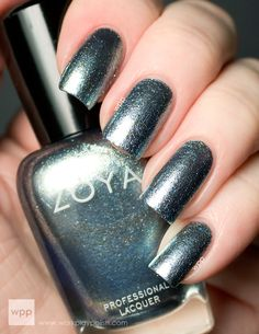 Zoya Hazel - a truly unique gem in the polish world! Blue, green, gold, even pink. Transcends seasons. So gorgeous!