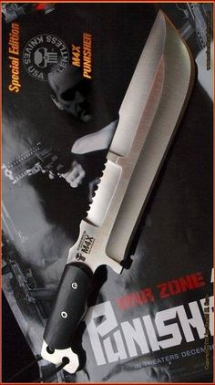 Special Edition M4X Punisher Relentless Knives Fixed Combat Blade USA @aegisgears