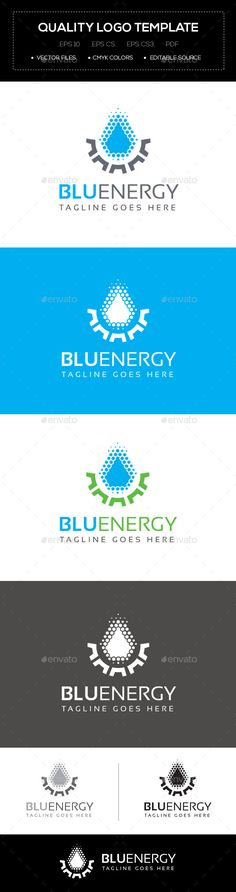 Blu Energy Logo Template - Abstract #Logo #Templates Download here: https://graphicriver.net/item/blu-energy-logo-template/10641702?ref=alena994