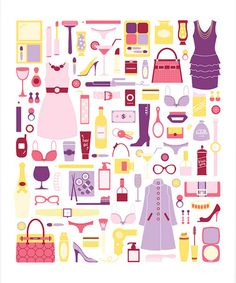 Girls Night Out #Print from #Flowers in May on #zulily #art #collage