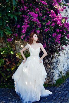 Lee Sung Kyung - Singles Wedding Magazine February Issue '15