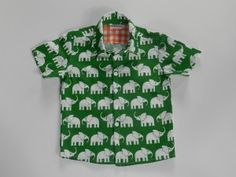 hemdje 3a maat 98 olifanten
