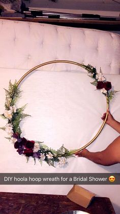 bridal shower decorations 828662400171164331 - Hoola Hoop Wreath Hoola Hoop Wreath Source by russischersalat Bridal Shower Planning, Bridal Shower Party, Bridal Shower Decorations, Bridal Showers, Wedding Planning, Wedding Decorations, Bridal Shower Wreaths, Engagement Party Planning, Fall Wedding