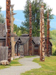Ksan Village, Old Hazelton, British Columbia, Canada by lens gazer Native Art, Native American Art, American Symbols, Native Indian, American Women, American Indians, American History, Canadian Things, Canadian Art