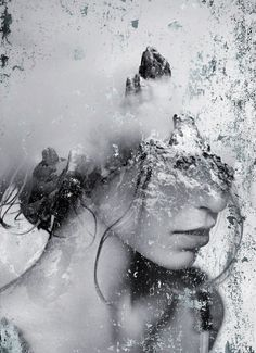 ART: Dreamy Portrait Series by Antonio Mora Spanish-based artist Antonio Mora, also known as mylovt, uses the web to craft his surreal works. He looks through online databases and finds images that he later combines into unconventional portraits. Double Exposure Photography, Abstract Photography, Creative Photography, White Photography, Portrait Photography, Levitation Photography, Experimental Photography, Artistic Photography, Digital Photography