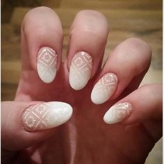 Another beautiful set of nails done by moi for myself  hard gel extensions using nail forms with baby boomer gel polish and white stamping on top xx  #nailsoftheday #nailart #nails #nailswag #nails2inspire #nailporn #nailpolishaddict #babyboomernails #nudenails #nailstagram #nailstamping #whitestampingpolish #nailextensions #gelnails by sparklednailsbyshelley