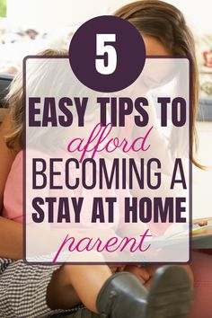 Dec 2019 - If you've ever thought about becoming a stay at home parent, don't let finances hold you back! Check out these tips that will help you make it happen. Best Money Saving Tips, Ways To Save Money, Money Tips, Saving Money, How To Make Money, How To Become, Living On A Budget, Frugal Living Tips, Frugal Tips