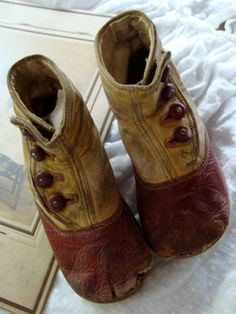 Amazing  Edwardian High Button up Child's Boot's.
