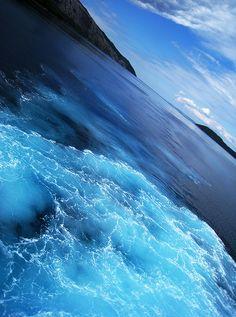 Adriatic sea, island of Hvar, Croatia / blue / #croatia #hrvatska