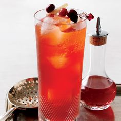 Cranberry-Spice Cocktail @keyingredient