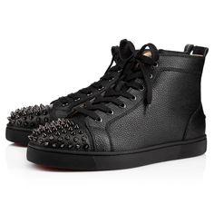 517b4d83389 Louis Junior Spikes Orlato Men s Flat Version Multi Patent Metrograf - Men  Shoes - Christian Louboutin in 2018