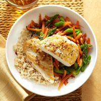 """Asian Ginger Chicken is on the menu this week for """"Make it Monday""""! The whole family will enjoy this protein packed oriental entree - or try the Summer Lemon or Broccoli Slaw variation, all are nutritious and delicious!"""