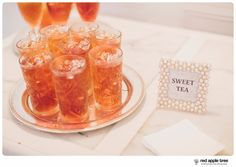 red apple tree photography: Becky + Drew Wedding at The Ryan Nicholas Inn, Simpsonville SC. southern sweet tea!