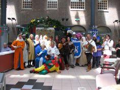 Middeleeuws Feest in Dr Sarphatihuis.