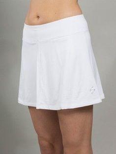 15152bb3e2a JoFit Ladies   Plus Size Jacquard Swing Tennis Skorts - Cosmopolitan Bali  (White)