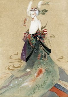 Best Asian Art by sheep Art And Illustration, Illustrations And Posters, Japanese Artwork, Japanese Prints, Figurative Kunst, Traditional Japanese Art, Anime Kunst, Orient, Chinese Art