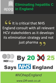 'It is critical that #NHSEngland consult with all relevant #HCV #stakeholders as it develops its elimination strategy and not just #pharma' #hepatitis #HepC #HCV #NOhep #NOhepEngland