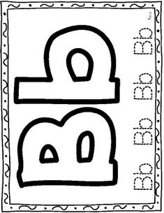 Big Alphabet Letters Tracing by Learning Palace Big Letters, Tracing Letters, Letter D, Alphabet Letters, Spanish Alphabet, Spanish Activities, Dual Language, Education, Worksheets