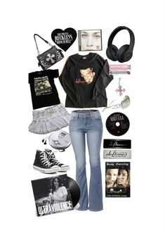 Cute Casual Outfits, Pretty Outfits, Fairy Clothes, Alternative Outfits, Polyvore Outfits, Aesthetic Clothes, Body, Style Me, Fashion Outfits