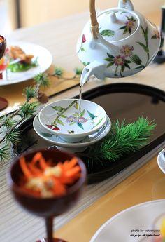 Japanese spiced sake served at New Year, Otoso お屠蘇