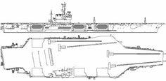 USS CV-67 John F Kennedy