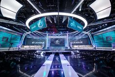 ELeague Set Design Gallery