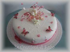 torta con fiori e farfalle - Cerca con Google