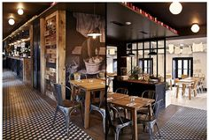 Restaurant design project by Pascal Claude Drach & My beautiful