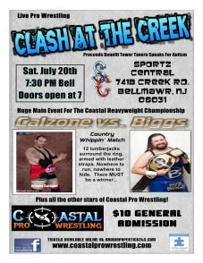 Pro Wrestling Fundraiser in Bellmawr