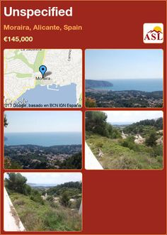 Unspecified in Moraira, Alicante, Spain ►€145,000 #PropertyForSaleInSpain