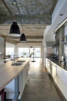 London Loft Kitchen