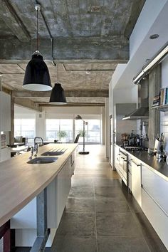 London Loft Kitchen