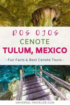 Dos Ojos cenote diving is a must for anyone wanting to see the very best of Riviera Maya. Know more about Cenote Dos Ojos Tulum in this informative article. Cenotes Tulum, Cancun Mexico, Cozumel, Maui Vacation, Quintana Roo, Big Island Hawaii, Tours, Mexico Travel, Riviera Maya