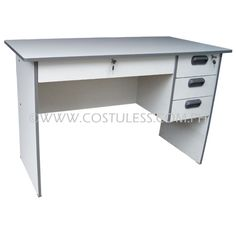 Office Desk 24x48 Price P2 899 00 Product Code Od 2448 Gray Description With 1 Center Drawer 3 Side Drawers W Lock Dimension