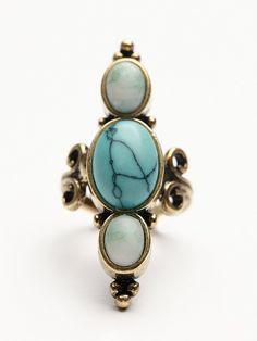 Free People Indi Stone Ring at Free People Clothing Boutique