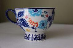 "Hard to Find ANTHROPOLOGIE Sip of Nectar Teacup Coffee Mug 5"" Floral Multicolor #Anthropologie"