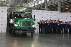 На Горьковском автозаводе стартовало производство грузового автомобиля нового поколения - «ГАЗон NEXT».